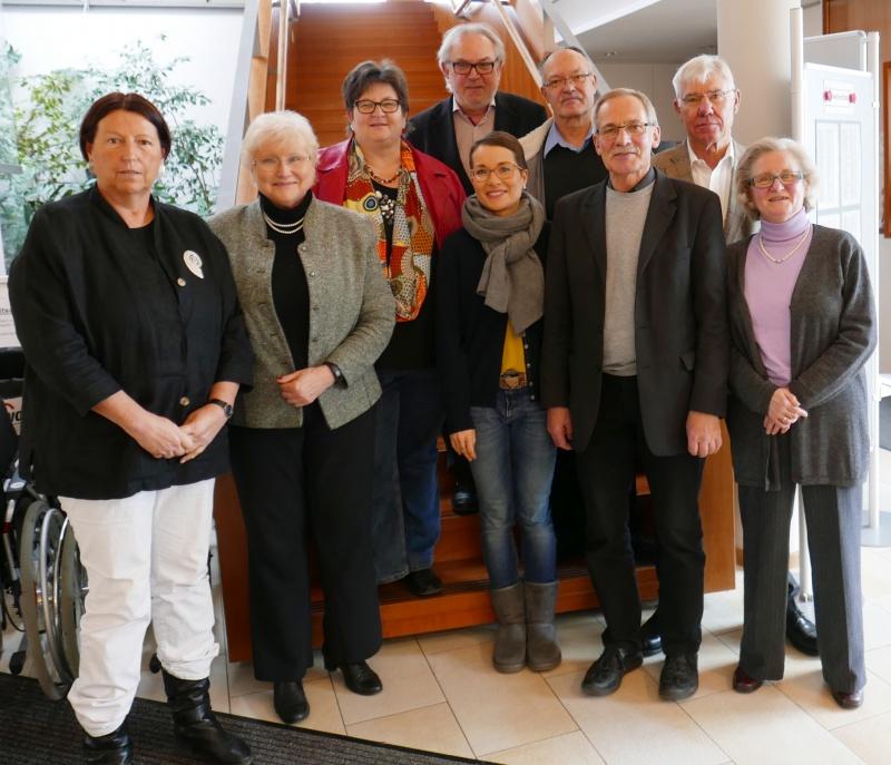 Bild des aktuellen AWO-Vorstands